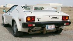 Lamborghini Jalpa: 3/4 posteriore con alettone
