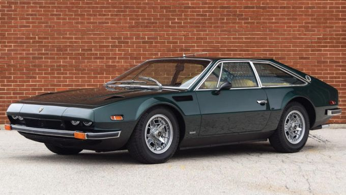 Lamborghini Jarama: design all'avanguardia per gli anni '70