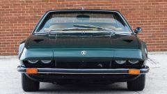 Lamborghini Jarama: il frontale con i fari semi nascosti