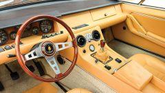 Lamborghini Jarama: l'abitacolo