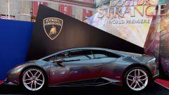 Lamborghini: la Huracán di colore Grigio Lynx alla Premiere del film Doctor Strange