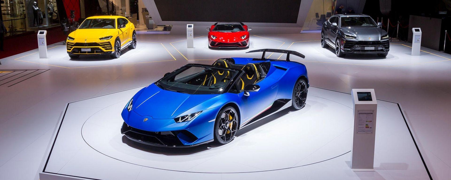 Lamborghini: la prima ibrida plug-in arriverà nel 2021