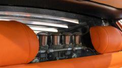 Lamborghini Miura: gli interni in pelle arancione