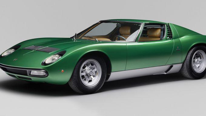 Lamborghini Miura, il mito