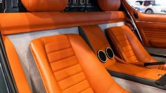 Lamborghini Miura: l'abitacolo