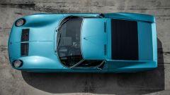 Lamborghini Miura S del cantante Little Tony, dall'alto