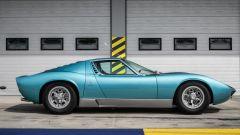 Lamborghini Miura S del cantante Little Tony, vista laterale