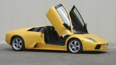 Lamborghini Murciélago, vista laterale