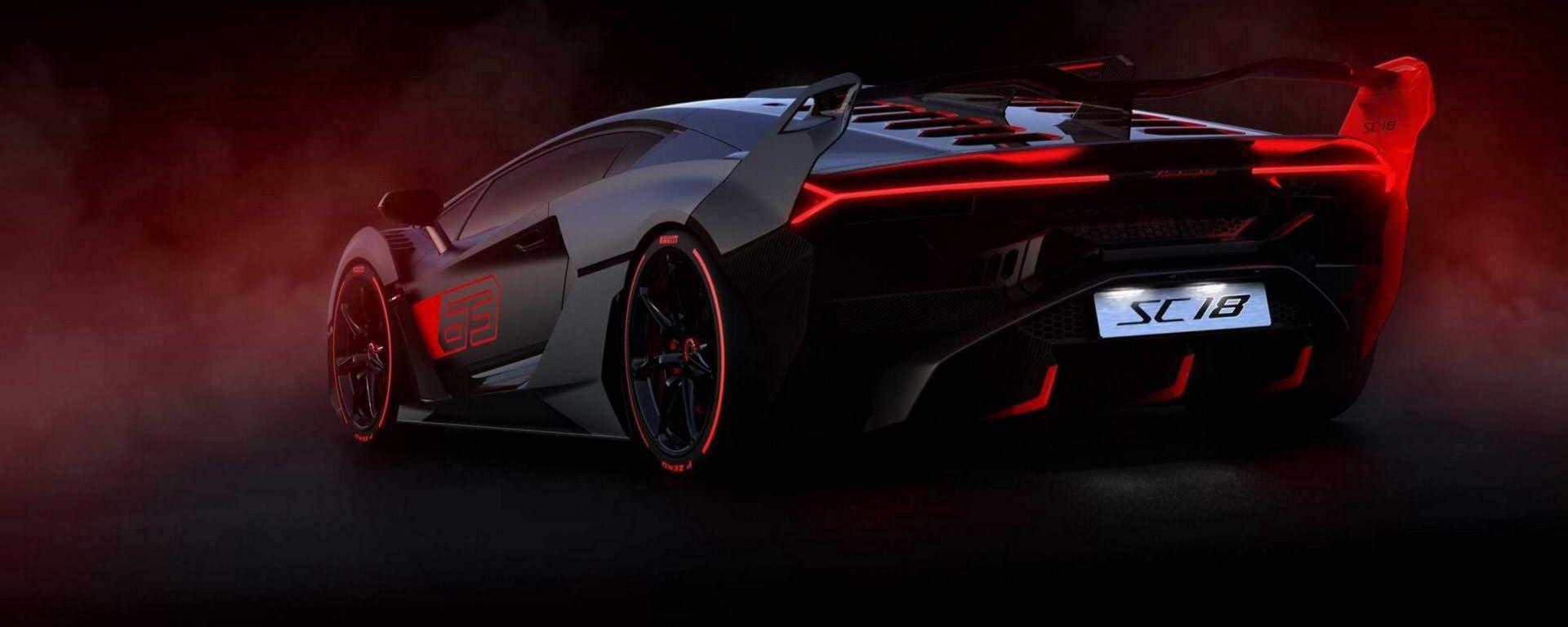 Lamborghini SC18 Alston: figlia della Squara Corse