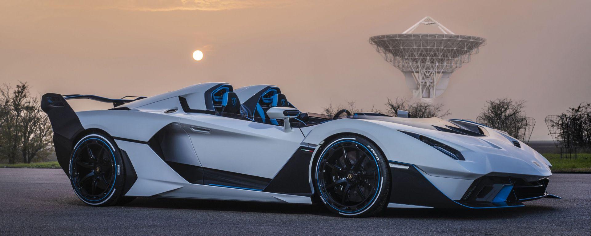 Lamborghini SC20, foto all'alba