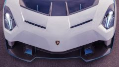 Lamborghini SC20, l'aggressivo cofano anteriore