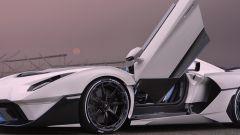 Lamborghini SC20, le portiere ad ala di gabbiano