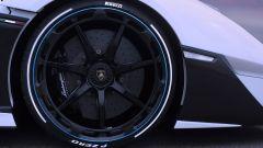 Lamborghini SC20, particolare dei cerchi anteriori