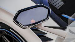 Lamborghini SC20, particolare dello specchietto a portiera aperta