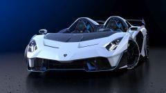 Lamborghini SC20, vista anteriore