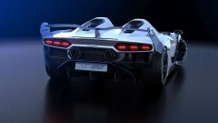 Lamborghini SC20, vista posteriore