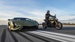 Lamborghini Siàn e Ducati Diavel 1260 Lamborghini
