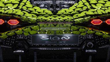 Lamborghini Siàn FKP 37 fatta coi LEGO in scala 1:1, la targa è illuminata