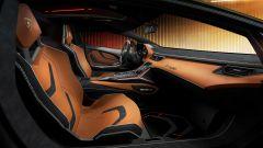 Lamborghini Sian, i sedili