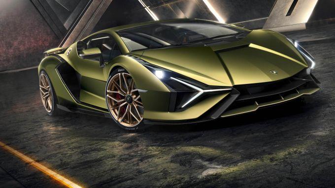 Lamborghini Sian, ibrida e ultralimitata