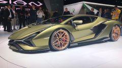 Lamborghini Sian in video dal Salone di Francoforte 2019 - Immagine: 6