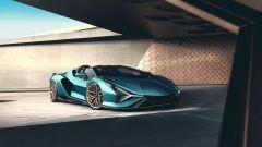 Lamborghini Sian Roadster: il motore ibrido da 48 V eroga 34 CV extra