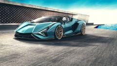 Lamborghini Sian Roadster: la più potente di sempre
