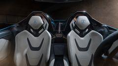 Lamborghini Sian Roadster: l'abitacolo