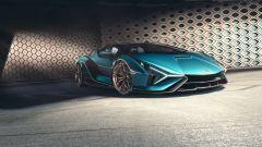 Lamborghini Sian Roadster: lo 0-100 km/h è da appena 2,9 secondi
