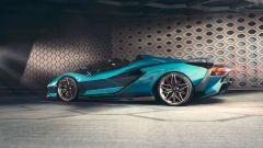Lamborghini Sian Roadster: oltre 350 km/h di velocità massima