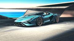 Lamborghini Sian Roadster: vista 3/4 laterale