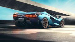 Lamborghini Sian Roadster: vista 3/4 posteriore