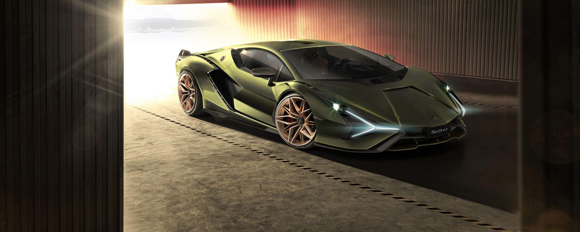 Lamborghini Sian, soltanto 63 esemplari
