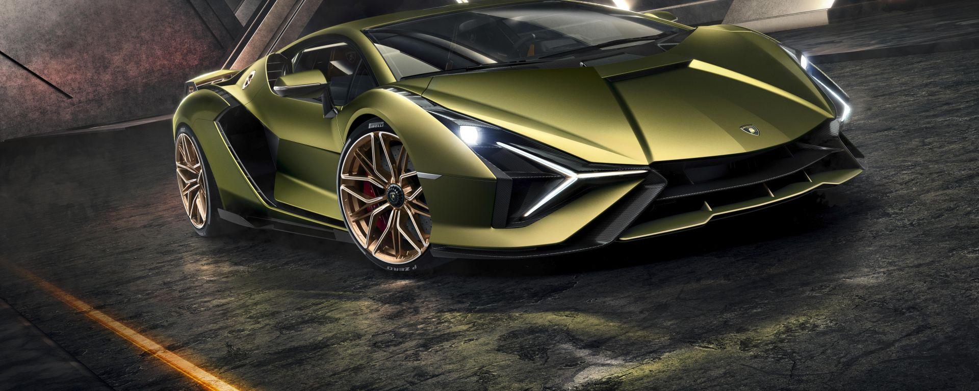 Lamborghini Sian: supersportiva ibrida in edizione iper limitata