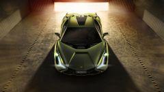 Lamborghini Sian vista dall'alto