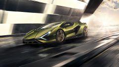 Lamborghini Sian vista di lato