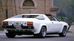 Lamborghini Silhouette: 3/4 posteriore bianca