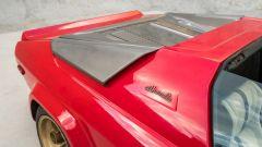Lamborghini Silhouette: dettaglio del montante centrale senza tettuccio