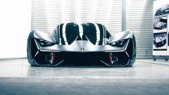 Lamborghini Terzo Millenio: frontale