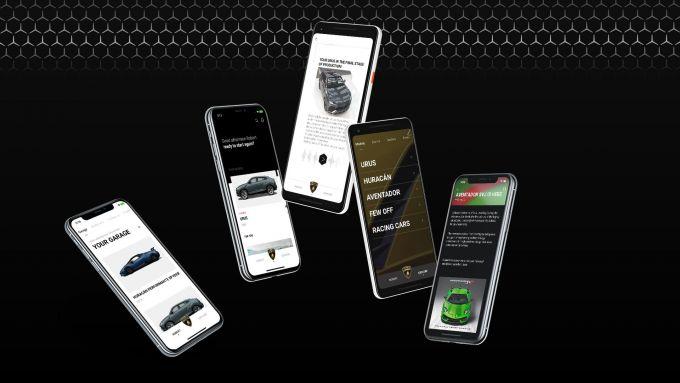 'Lamborghini Unica' sarà disponibile sia per IOS che per Android