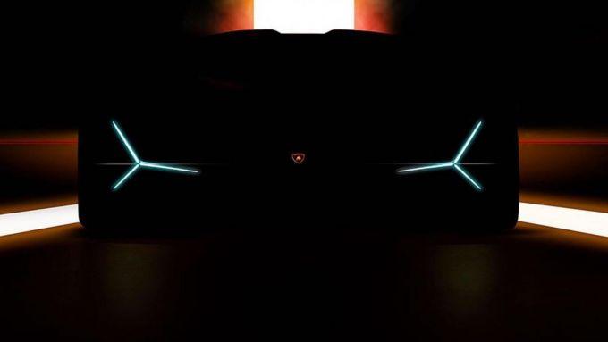 Lamborghini Unico: il muso con le lame di luce a Led
