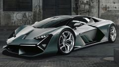 Lamborghini Unico: teaser non ufficiale svela come potrebbe essere