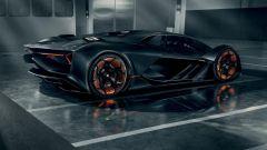 Lamborghini Unico: vista posteriore
