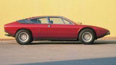 Lamborghini Urraco: laterale rossa