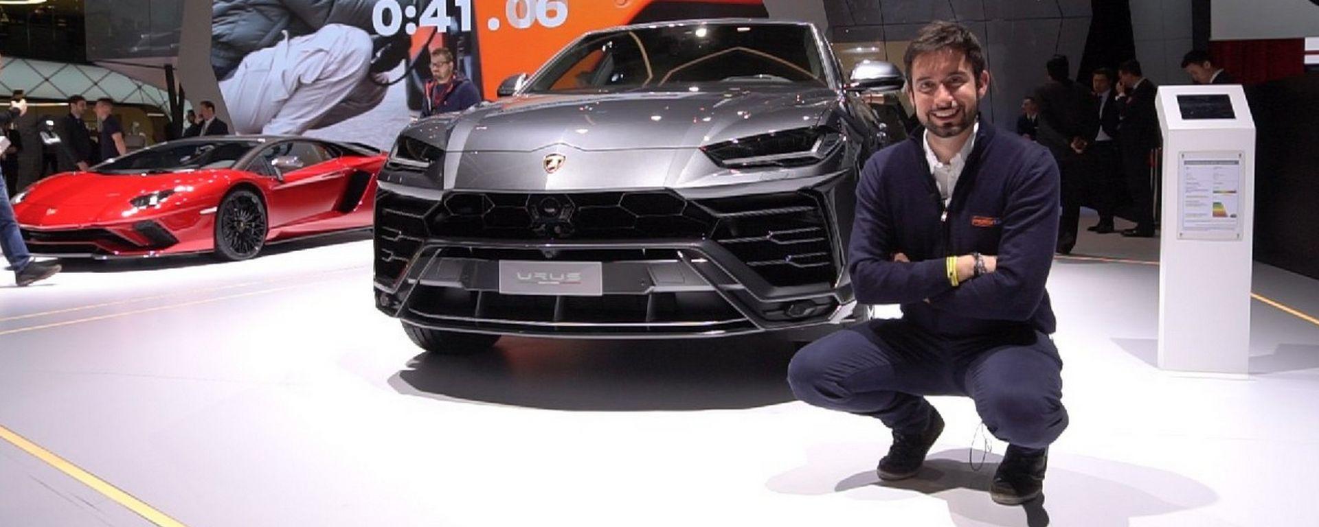 Lamborghini Urus a Ginevra 2018