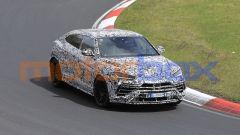 Lamborghini Urus EVO: test ad alta velocità al Nordschleife