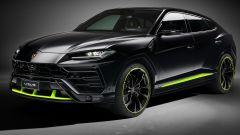 Lamborghini Urus Graphite Capsule 2021: 3/4 anteriore
