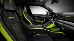 Lamborghini Urus Graphite Capsule 2021: i colori degli esterni si ripetono anche nell'abitacolo