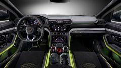 Lamborghini Urus Graphite Capsule 2021: la plancia