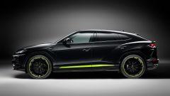 Lamborghini Urus Graphite Capsule 2021: vista laterale